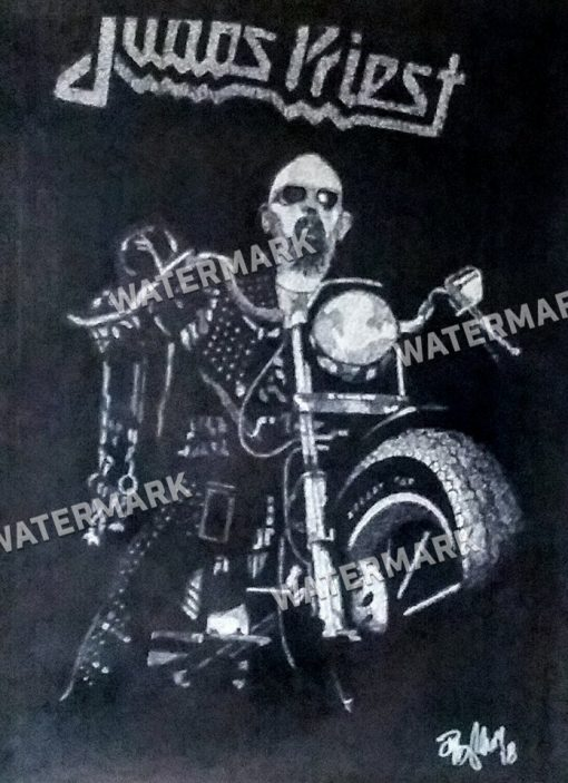 The Metal God Rides